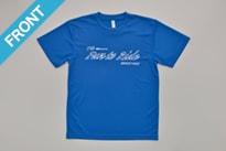 オリジナルTシャツ ブルー(Front)
