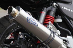 Sonic NEWエンブレム採用 ワイバンソニック チタンポリッシュサイレンサー装着車両