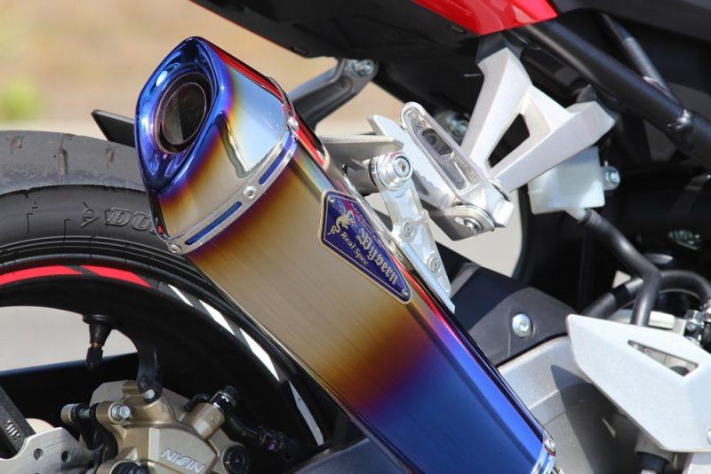 Slip-On Type R ドラッグブルーサイレンサー装着車両