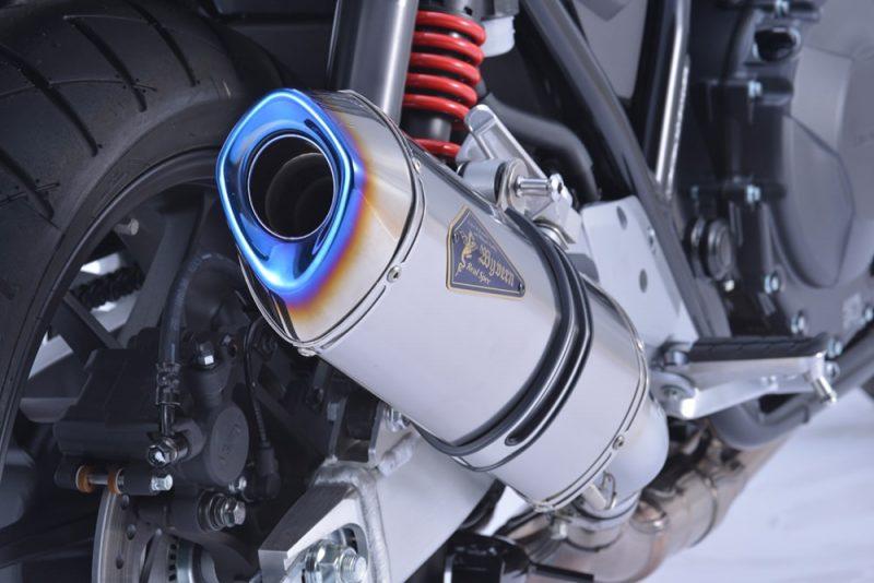 Slip-On Type チタンポリッシュサイレンサー装着車両