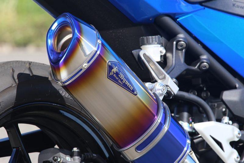 Slip-On Type S ドラッグブルーサイレンサー装着車両